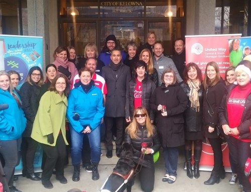 Giving Tuesday Okanagan mobilizes to celebrate the global day of giving November 28