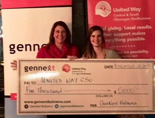 GenNext Kelowna donates $5,000 for Youth Initiative Grants