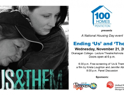 100 Homes Penticton presents Ending 'Us' and 'Them'