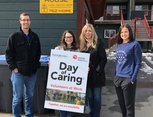 BDC deep cleans at Ozanam House for Day of Caring