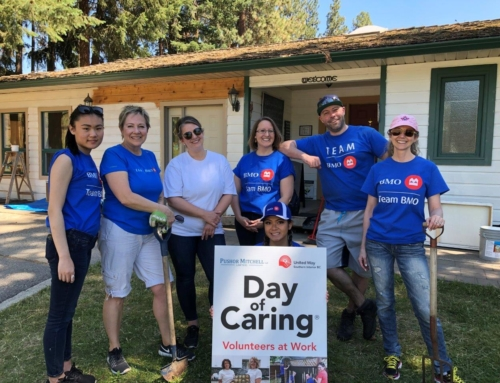 BMO helps out at four charities for Day of Caring