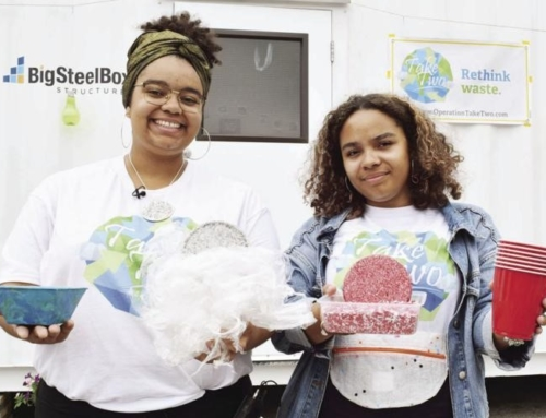 In the News: Operation Take Two transform plastic waste