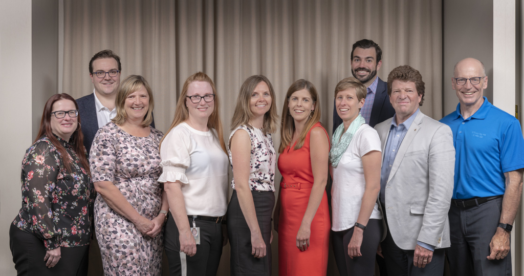 Photo of the United Way SIBC Board of Directors.