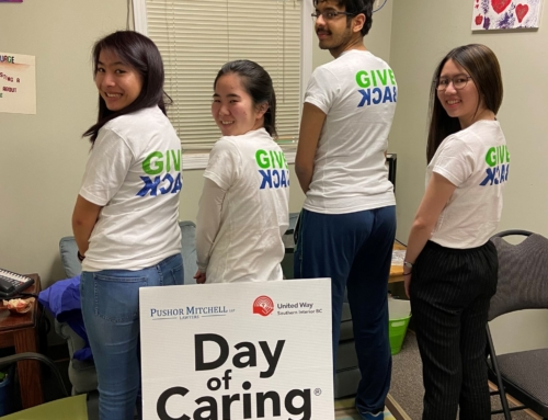 UBC Okanagan students give back during reading week