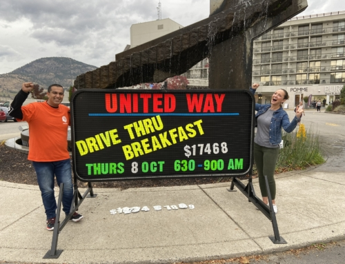 South Okanagan Drive Thru raises just under $20K for local community fund