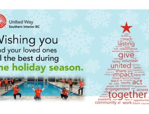 United Way Holiday Newsletter – December 2020